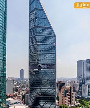 معماری آسمان خراش مقاوم در برابر زلزله