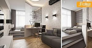 ایده طراحی داخلی آپارتمان با متراژ کم