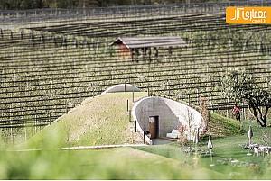 طراحی سونا در فضای زیرین تپه