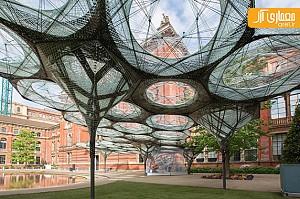 طراحی فضای نمایشگاهی با الهام از بال حشرات