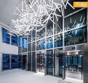 خلاقیت در طراحی لوستر در دفتر معماری MVRDV
