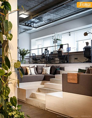 نگاهی به طراحی داخلی یک استودیو معماری