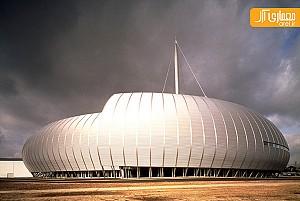 معماری سالن کنسرت و مرکز نمایشگاه توسط برنارد چومی