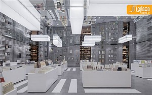 بررسی طراحی جالب توجه این کتاب فروشی در چین