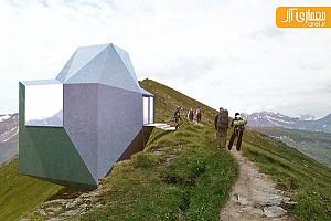طراحی پناهگاه کوهستانی برای کوهنوردان