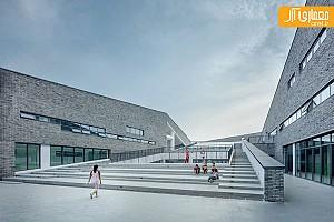 معماری و طراحی داخلی مدرسه ای در چین