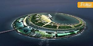 آثار منتخب در مسابقه طراحی جزیره مصنوعی