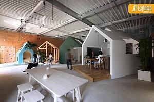 طراحی داخلی دفتر اداری در ژاپن