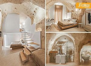 طراحی داخلی مدرن هتل ایتالیایی در بافت تاریخی شهر