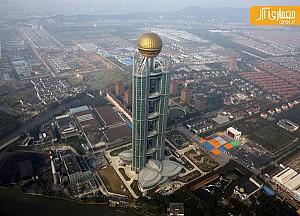 نگاهی به هتل آسمان خراش در ثروتمند ترین روستای چین