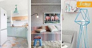 ایده های شگفت انگیز در به کارگیری رنگ های پاستیلی در دکوراسیون داخلی خانه