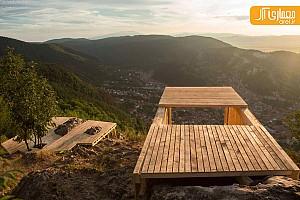 طراحی پناهگاه و رصدخانه کوهستانی