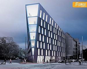 معماری ساختمان چند منظوره در لتونی