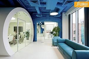 طراحی داخلی آژانس تبلیغاتی در مُسکو