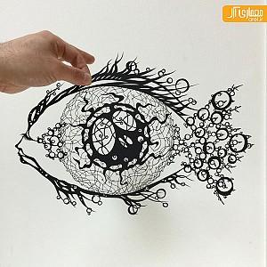 هنر شگفت انگیز برش کاغذ و خلق آثار بی نظیر