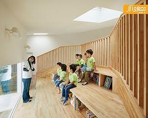معماری و طراحی داخلی مدرسه در ژاپن