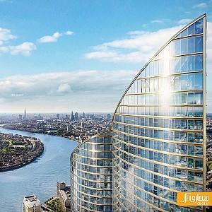 معماری بلند ترین برج مسکونی در سراسر اروپا