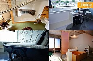3 طرح خلاقانه در طراحی داخلی اتاق های هتل