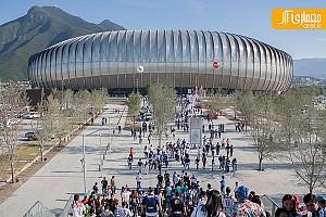 معماری ورزشگاه BBVA BANCOMER