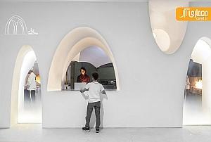 طراحی داخلی و بازسازی کبابی محمد در اصفهان