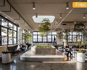 طراحی داخلی شرکت بین المللی A+I در نیویورک
