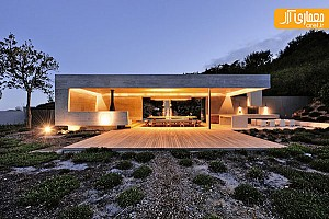 طراحی غرفه کوچک شخصی واقع در آفریقا
