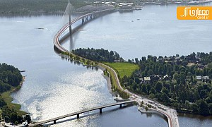 طویل ترین پل فنلاند، شاهراه عظیم عابر پیاده و دوچرخه