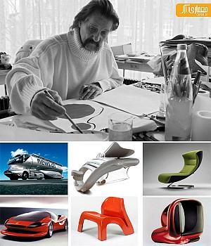 شنبه های طراحی صنعتی: لویجی کولانی (Luigi Colani)