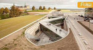 طراحی موزه زيرزميني در يك لنگرگاه بي آب، توسط گروه BIG