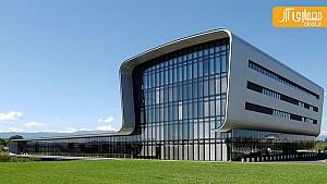 کارخانه و ساختمان اداری شرکت ساعت سازی واچرون کنستانتین/ برنارد چومی