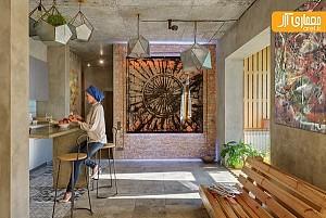 طراحی داخلی بی نظیر خانه ایرانی مهر در اوکراین