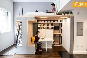 نگاهی به یک نمونه میکرو آپارتمان