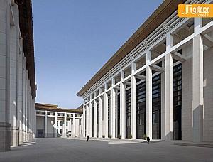 معماری موزه بین المللی چین به سبک نئوکلاسیک