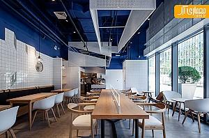 طراحی کافه پاراگراف (Paras) شانگهای