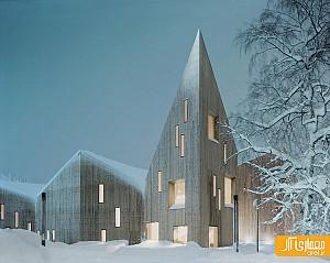 معماری موزه هنرمحلی رمسدال نروژ