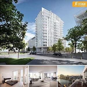 مجتمع مسکونی- اداری هامبورگ، طراحی ریچارد مه یر