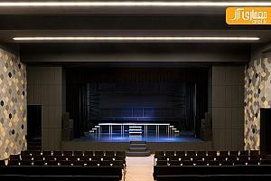 طراحی آمفی تئاتر برای مدرسه ابتدایی