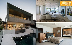 معماری و طراحی داخلی ویلایی در استرالیا