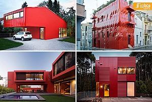 11 ساختمان  قرمز  و جذاب !