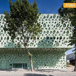 طراحی نمای جالب موسسه تحقیقاتی در پرتغال