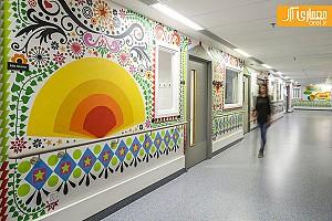 احیای بیمارستان کودکان در لندن با استفاده از نقاشی های دیواری