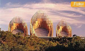 طراحی مرکز فرهنگی ژان ماری توسط رنزو پیانو، با الهام از معماری بومی