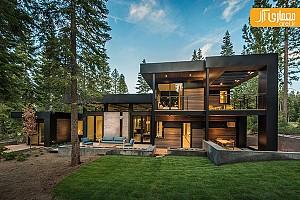 معماری ویلای معاصر کالیفرنیا