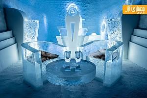 اولین هتل یخی دائمی دنیا