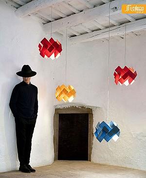 لوستر و روشنایی های چوبی دست ساز خلاقانه از LFZ