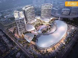 تاریخ چین در معماری یک مجتمع چند منظوره