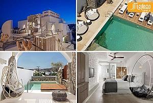 طراحی هتلی شگفت انگیز در جزیره یونانی Mykonos