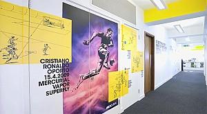 از ایده تا واقعیت در طراحی داخلی فروشگاه نایک