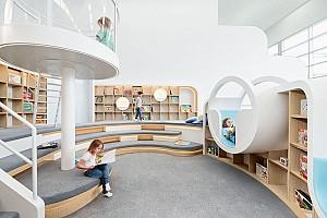 طراحی نوآورانه مرکز فرهنگی و بازی های تخیلی کودکان