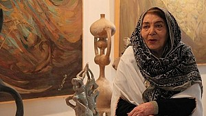 دوشنبه های هنرهای تجسمی: منصوره حسینی از نگاه جواد مجابی
